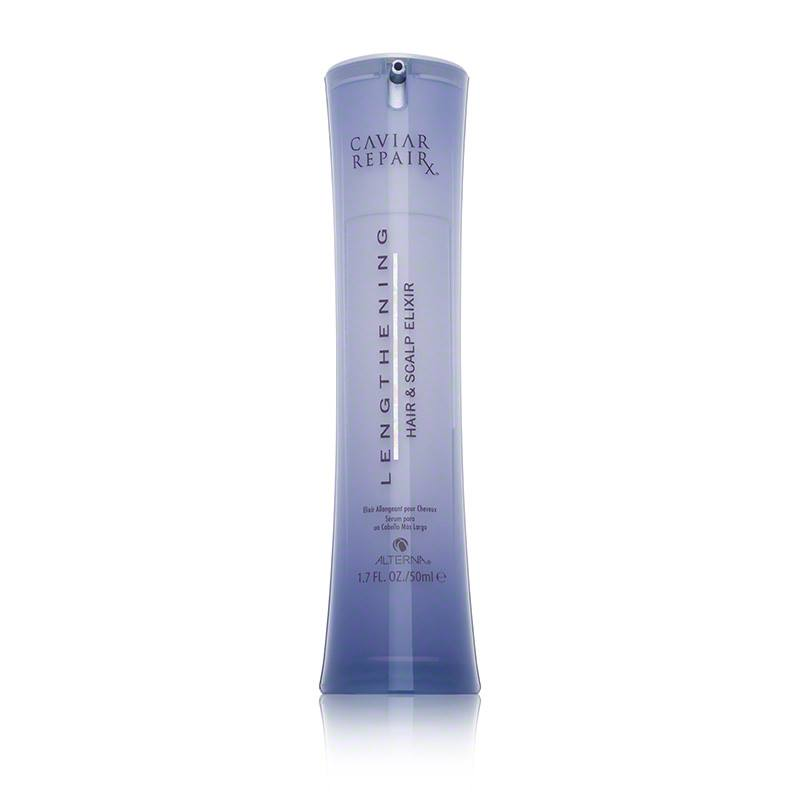 Caviar Repair Lengthening Hair & Scalp Elixir £33 A quick-absorbing serum designed to boost hair growth, helping you achieve longer, stronger locks. Specially formulated to reduce breakage and condition hair strands, to give you a healthy look. Containing caviar extract, this…Continue Reading..