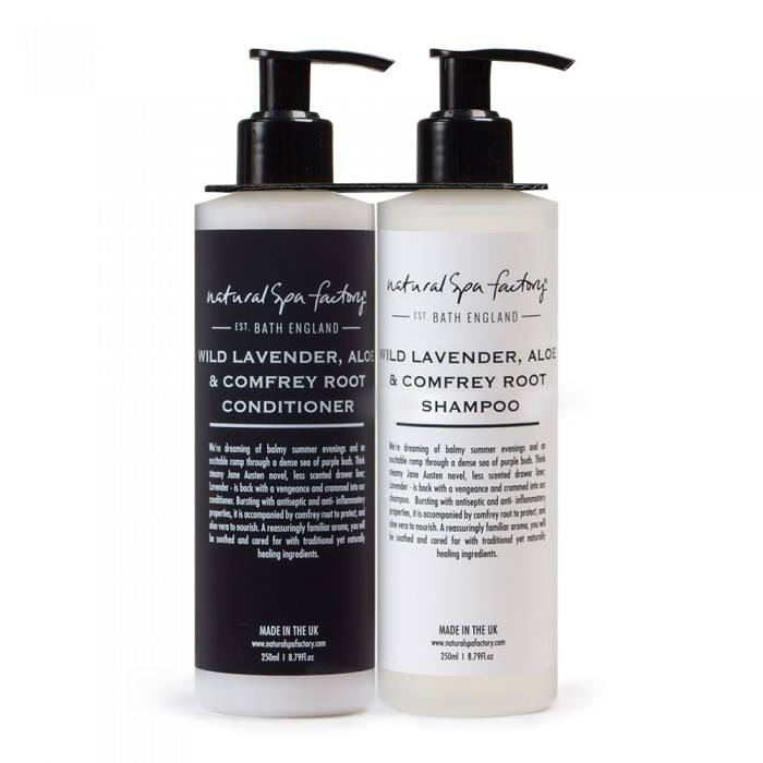 Wild Lavender, Comfrey Root & Aloe Shampoo – £12