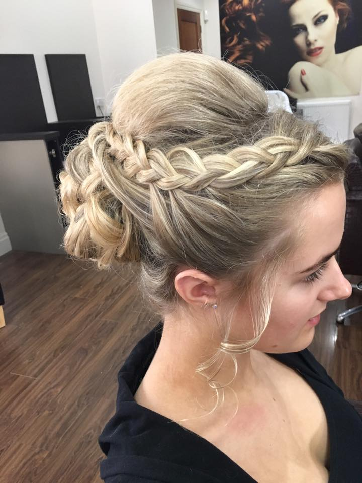 Prom hair by Stephanie 