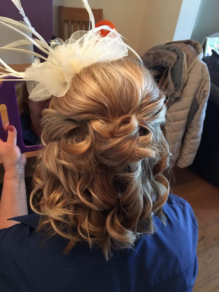 Today's pretty wedding hair ❤…Continue Reading..