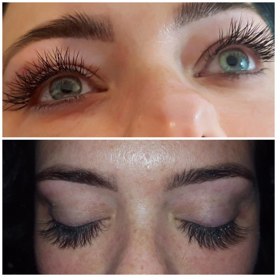 Gorgeous Semi-Permanent Lashes by Lydia…