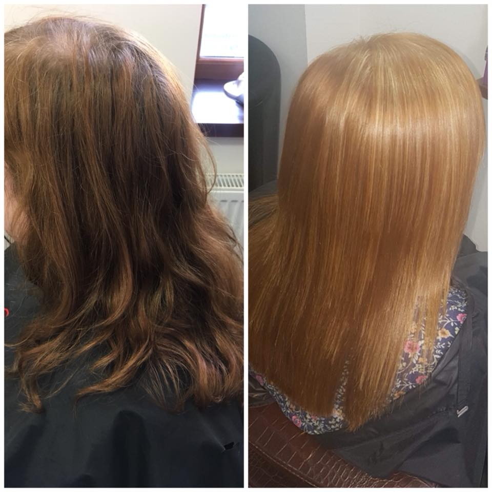 Beautiful colour and cut by Melanie…